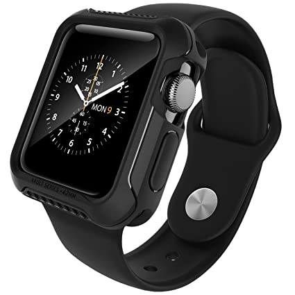 apple watch series 2 42mm. apple watch 2 case 42mm, caseology rugged protective: amazon.co.uk: electronics series 42mm e