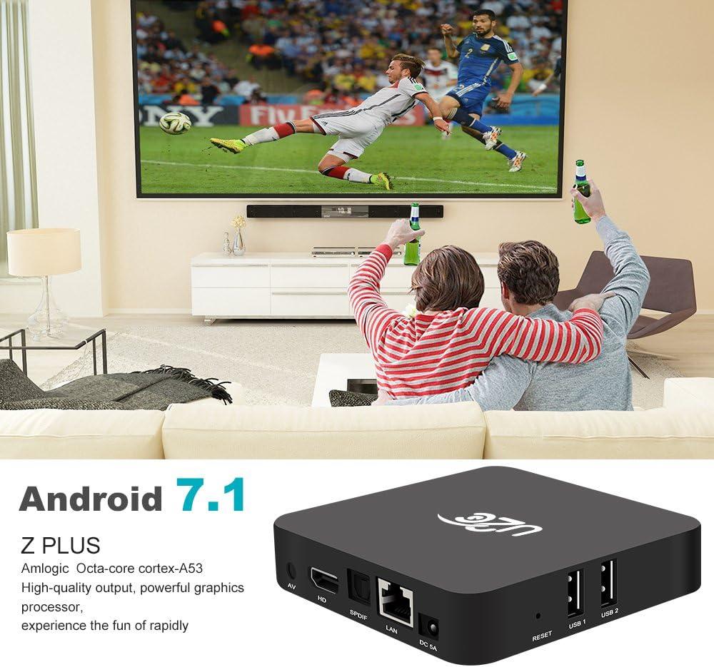 Amazon.com: Modelo de 2017 Android 7.1 Z Plus Smart TV Box 2 ...