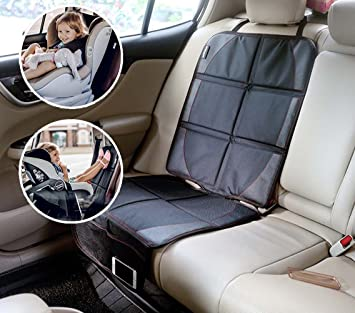 Aidle Car Seat Protector Kick Mat Auto Back With 2 Organizer Pockets