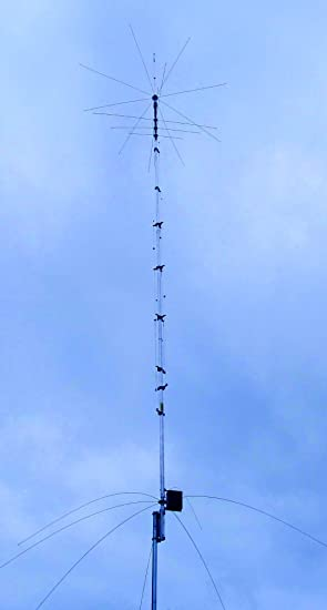 hy-gain av-680 – Antena Vertical 9 bandas 80/40/30/20/17/15/12/10/6 metros