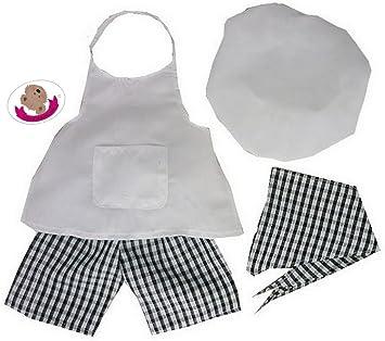 Build your Bears Wardrobe - Ropa para Oso Chef Disfraz