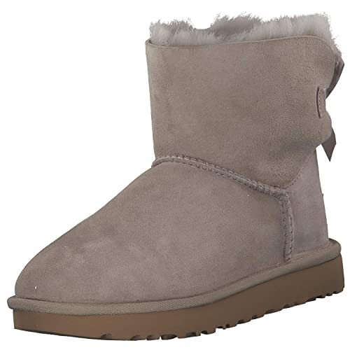 bfb068b9680 UGG - Boots Mini Bailey Bow II - Oyster: Amazon.co.uk: Shoes & Bags