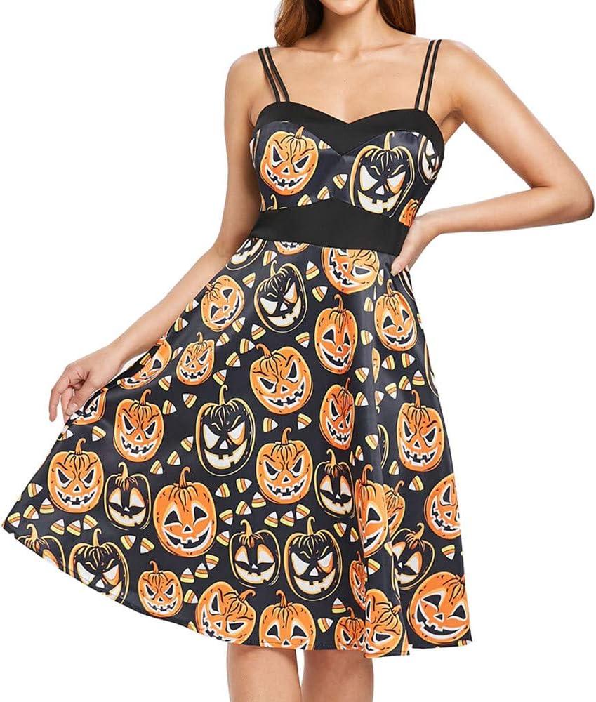 MAWOLY Disfraz de Halloween para mujer, estilo vintage de Hebburn ...