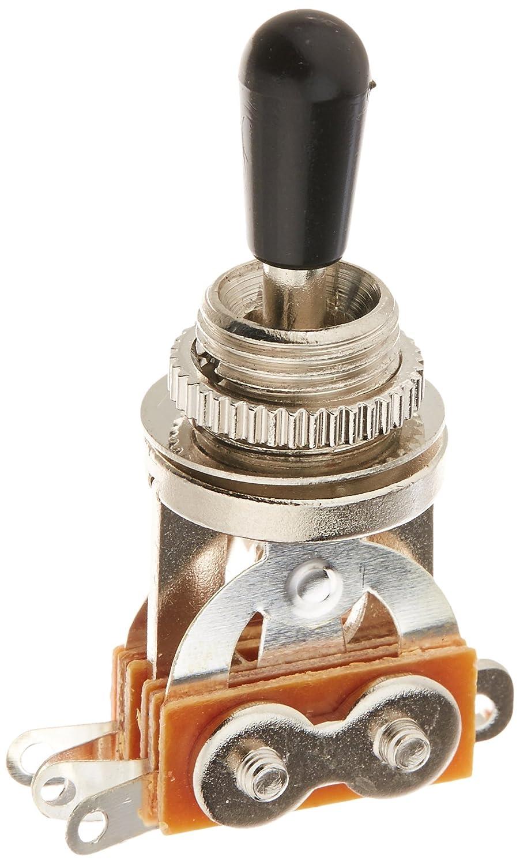 Kmise 1-pc 3 WAY Toggle Switch/knob Chrome Electric Guitar Part Ltd A0107