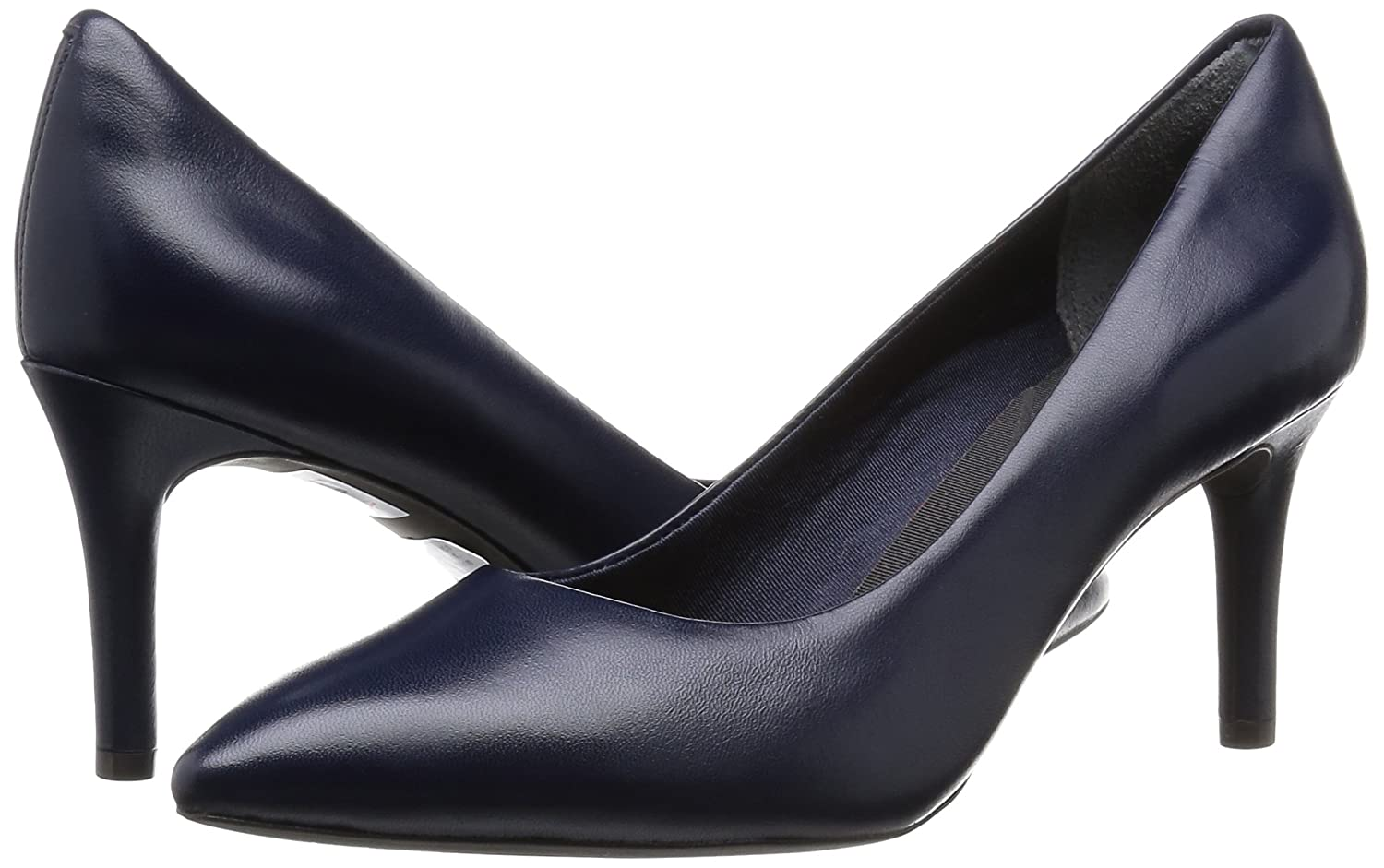 Rockport Damen Total Motion Motion Total 75mm Pointy Toe Pump Pumps Blau (Deep Ocean Nappa) 65ed93
