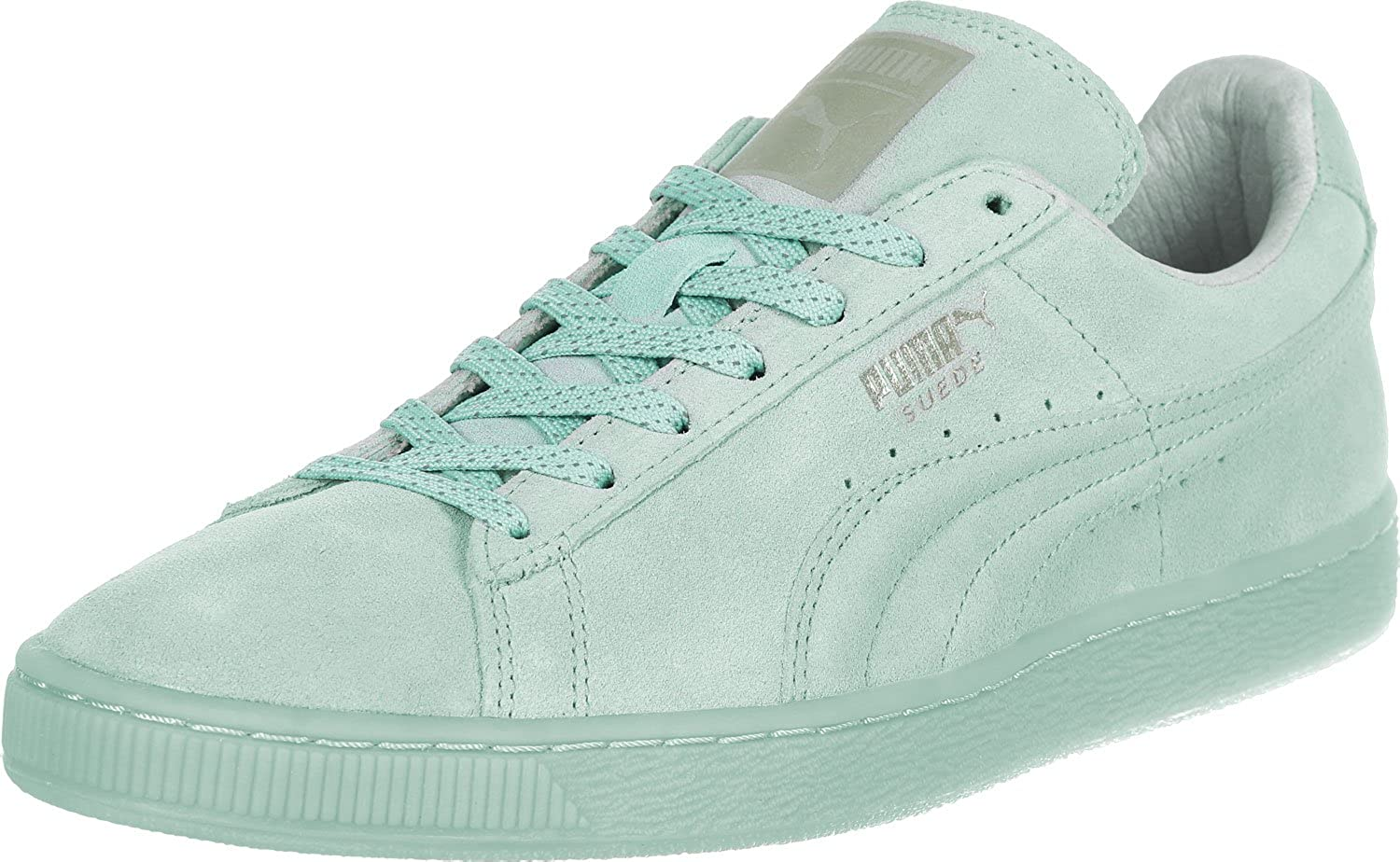 Puma Suede Classic+, Chaussons Sneaker Adulte Mixte Türkis