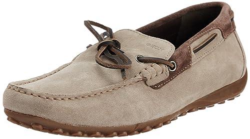 Geox U Snake Moc I - Mocasines de cuero hombre: Amazon.es: Zapatos y complementos