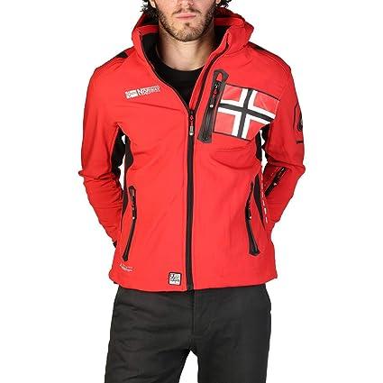 Geographical Norway Chaqueta Renade_Man Hombre Color: Rojo Talla: XL