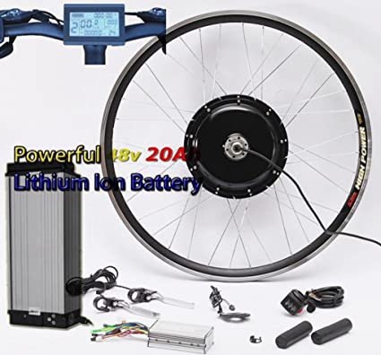 Amazon com : 50KM/H Newest System 48V 1000W Electric Bike