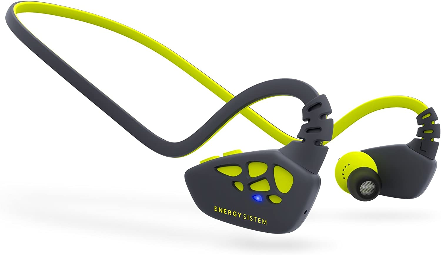 Energy Sistem Earphones Sport 3 Bluetooth (Bluetooth, APTX, Secrure-Fit, IPX4,Control Talk) Yellow