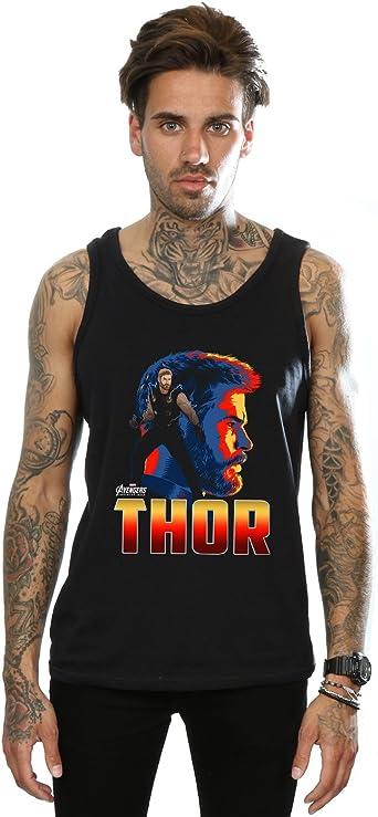 Avengers Hombre Infinity War Thor Character Camiseta Sin ...