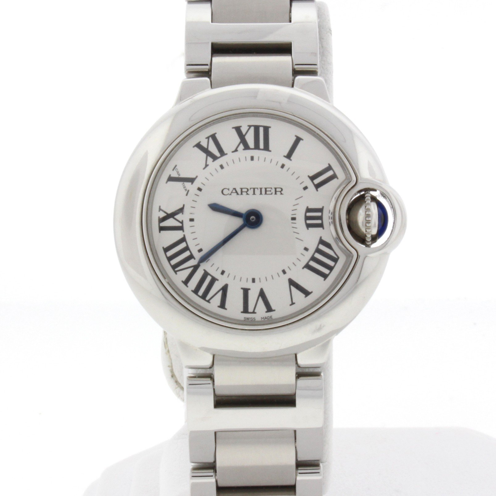 Cartier Ballon Bleu analog-quartz womens Watch W69010Z4 (Certified Pre-owned)