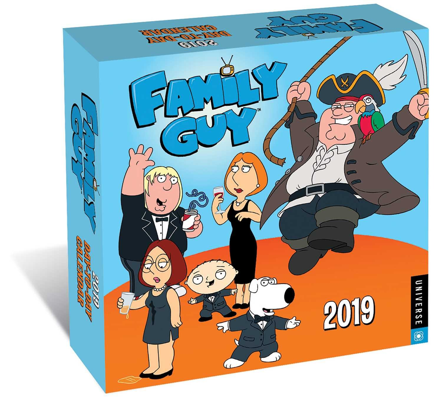Family Guy 2019 Day To Day Calendar