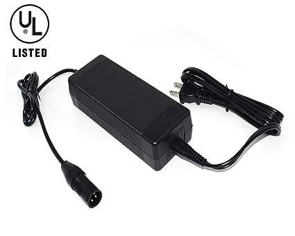 Amazon.com: Fushield - Cargador de batería para bicicleta ...