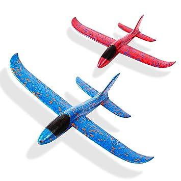 Amazon.com: Kizh - Juguetes de avión de espuma de 13,5
