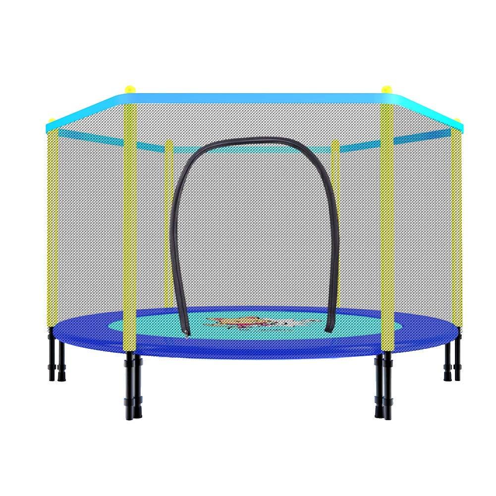 55-Zoll-Trampolin mit Sicherheits-Pad und Schutznetz, Klapptrampolin-Trainer-tragbares rüttelnde Eignungs-Übungs-Ausrüstung