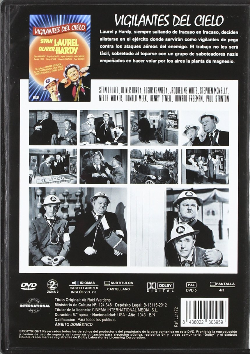 Amazon.com: Vigilantes Del Cielo (Import Movie) (European Format - Zone 2) [2012]: Movies & TV
