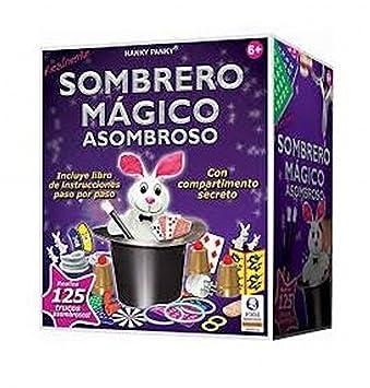 ASOMBROSO SOMBRERO MAGICO 125 TRUCOS  Amazon.es  Juguetes y juegos d89071b215a