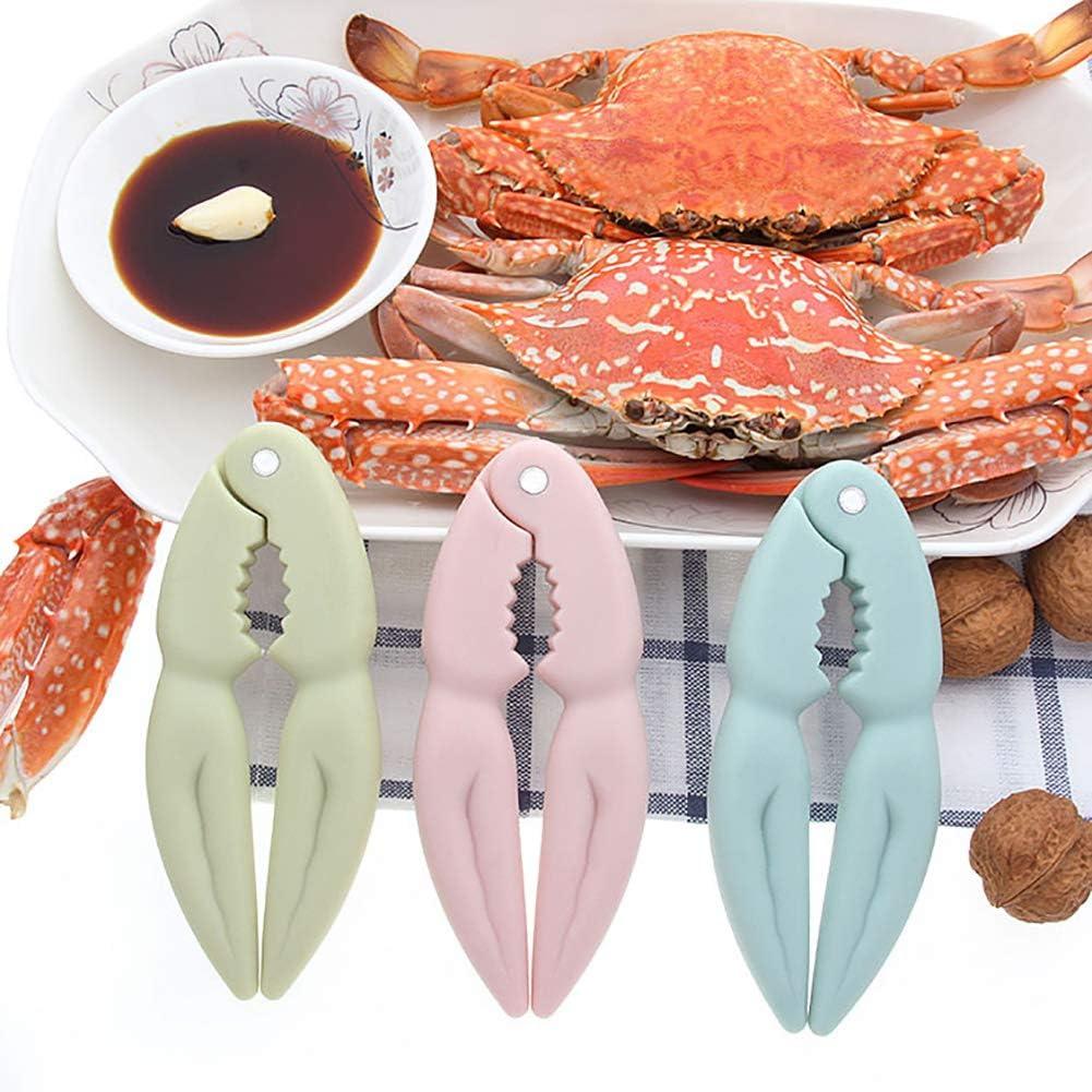 L-DiscountStore Cr/éatif Nordic Vent Noyer Clip /Écrou Clip Fournitures de Cuisine Fournitures de Crabe Pinces Mangez Crabe Coquillage Appareil de Pelage de Crabe Outils de Cuisine Cadeau