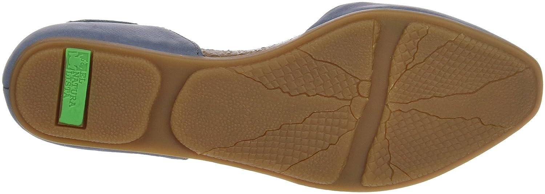 El Naturalista Women's Nd54 Stella Flat Sandal B01M1L35YA 40 M EU|Vaquero