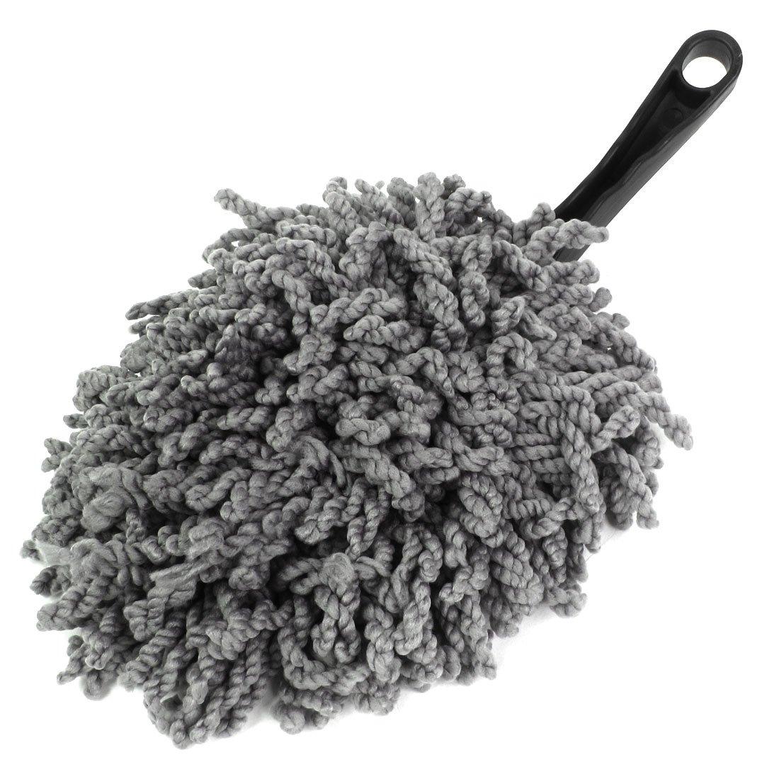 Plumeau attrape-poussiè re pour nettoyage Clean Brosse de balai dé poussié rant outil-Gris Sourcingmap a14071500ux0328