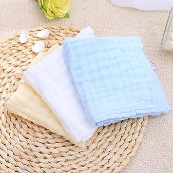 LYYYUJIN Cuidado facil Baberos Baby Bath Towel Newborn Lavado Toallas Baby Toallas 6 Capas de Gasa de algodón Absorción de Agua (Color : #1): Amazon.es: ...