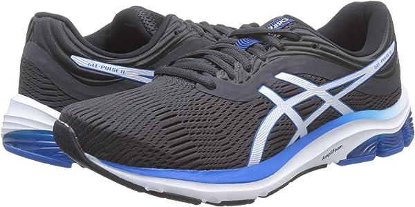 Asics Gel-Pulse 11, Zapatos para Correr Mens, Gris, 41 1/2 EU: Amazon.es: Zapatos y complementos