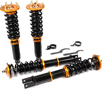 2007 2005 2008 Aucra TSX Lowering Coilover Spring Kits Green Color For 2004 2006