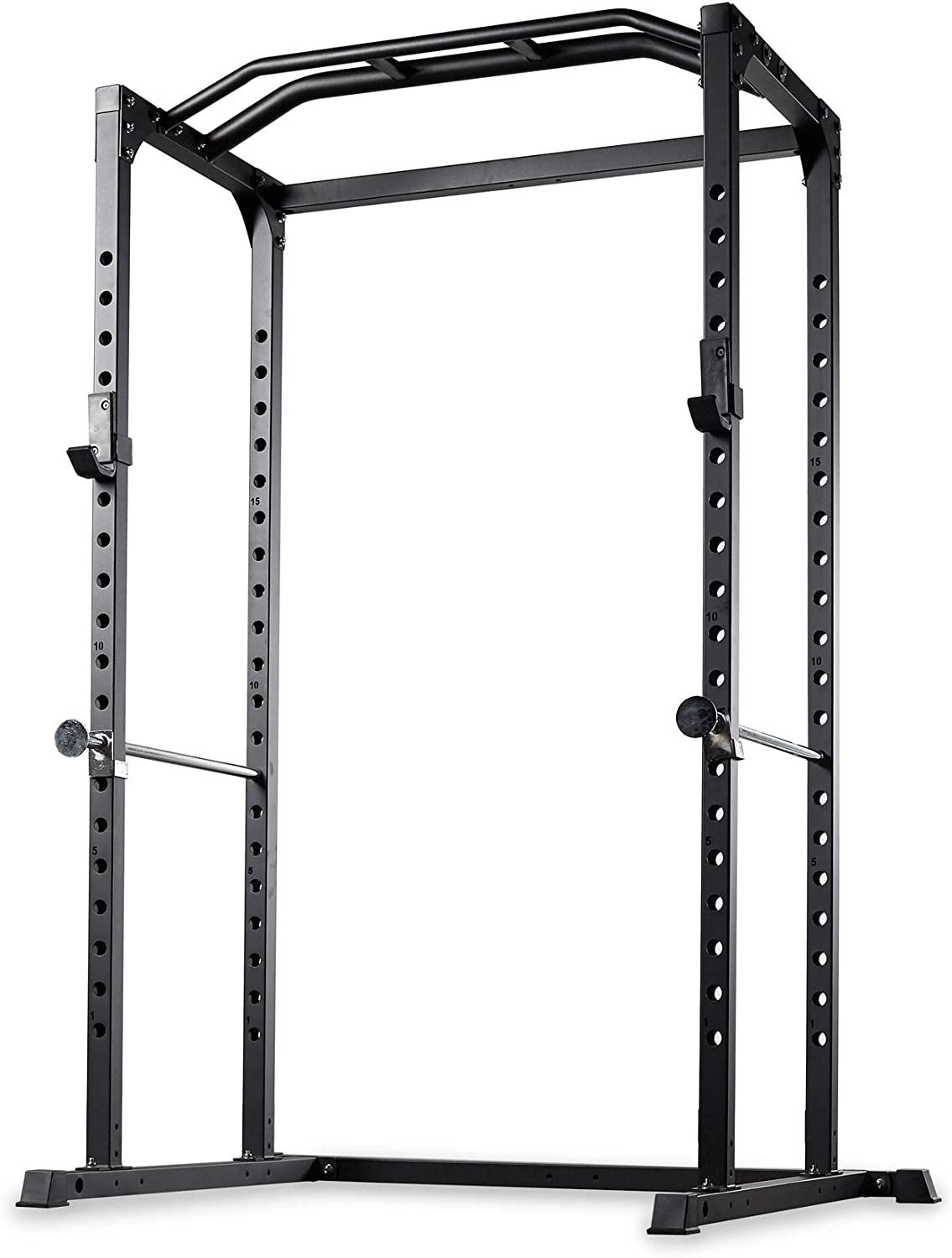 REP FITNESS PR-1100 Power Rack – 1,000 lbs Rated Lifting Cage for Weight Training