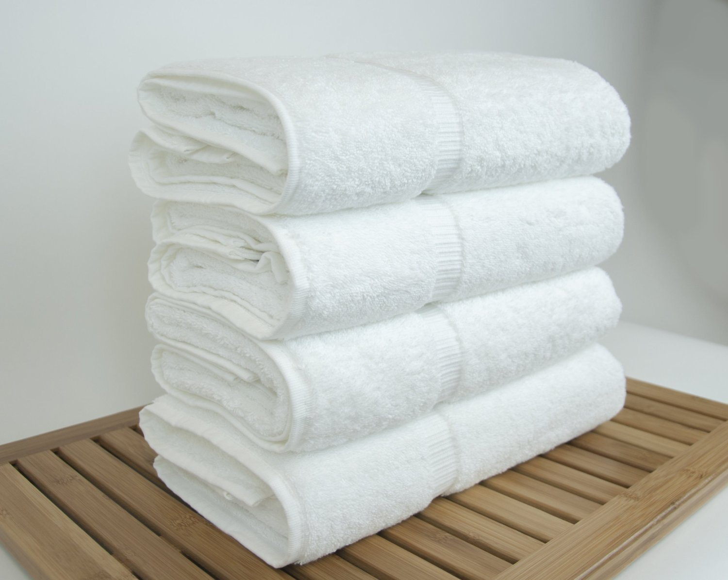 Amazon Luxury Hotel Spa Bath Towel 100 Genuine Turkish Cotton 27 X 54 Set Of 4White Home Kitchen