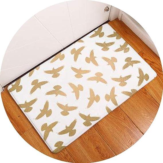 Cartoo Dinosaur Fox Insect Mats Welcome Hallway Doormat Entrance Door Waterproof