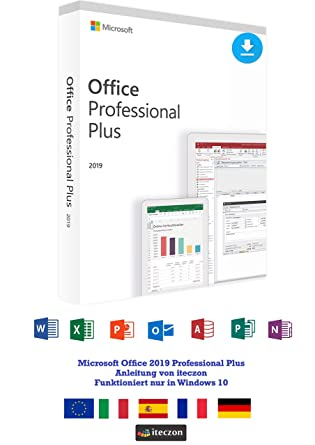 Microsoft-Office Professional-2019 Plus-Software-Vollversion-per Nachricht