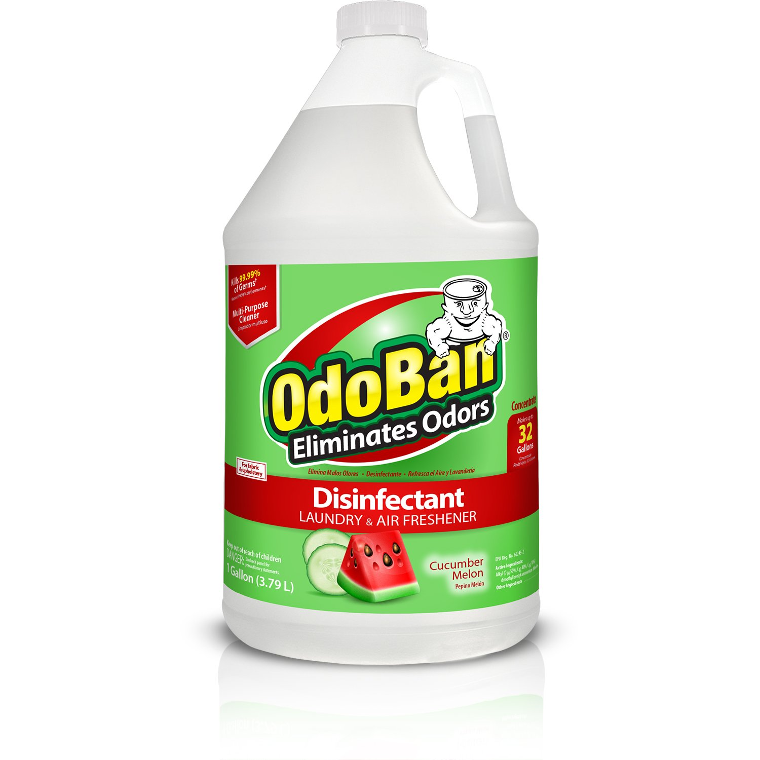 OdoBan Odor Eliminator and Disinfectant Concentrate - Cucumber Melon by OdoBan
