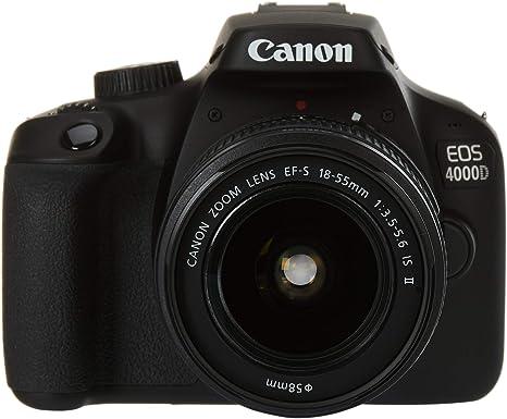 Canon EOS 4000D BK 18-55 IS EU26 Cuerpo de la cámara SLR 18 ...