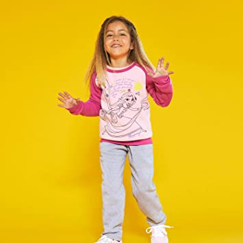 Disney Chándal Rapunzel Niña (Talla: 4): Amazon.es: Deportes y ...