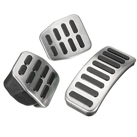 Amazon.com: Funnytoday365 Stainless Steel Mt Pedal Pads For Vw Polo Jetta Mk4 Bora Golf Mk4 3Pcs/Set: Car Electronics