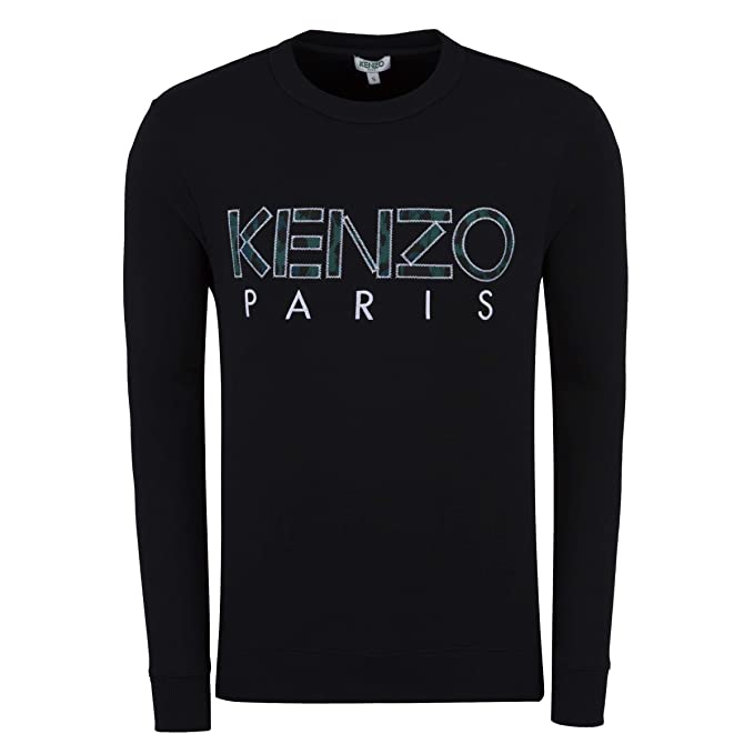 d907eb16 Kenzo Mens Paris Logo Sweatshirt XL Black: Amazon.co.uk: Clothing