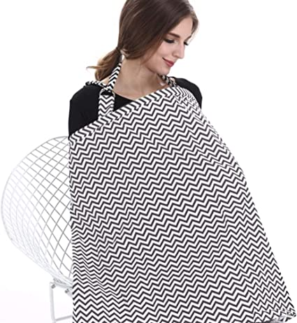 HB HomeBoat® Mama Designs Mama-Scarf Breastfeeding Scarf Nursing Cover