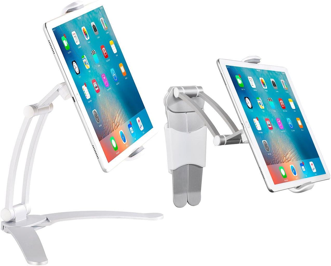 Tablet-Zubeh/ör aus Bambus St/änder f/ür Tablet iPad Apple iPhone Halterung Tischst/änder Halter