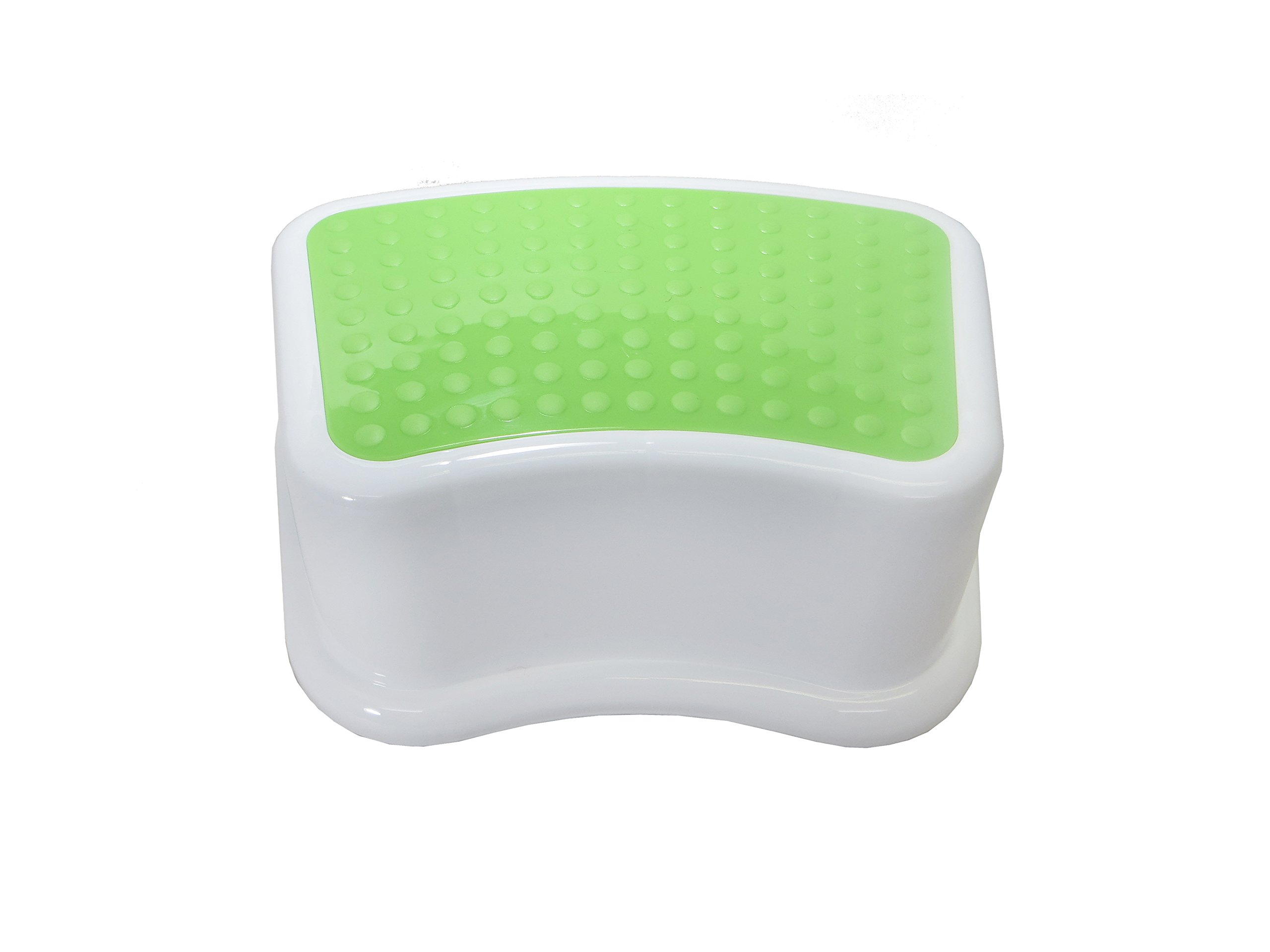 Kids Best Friend Kids Green Step Stool, Take It Along in Bedroom, Kitchen, Bathroom and Living Room. Great for Potty Training And Toy Room Gift by Angels