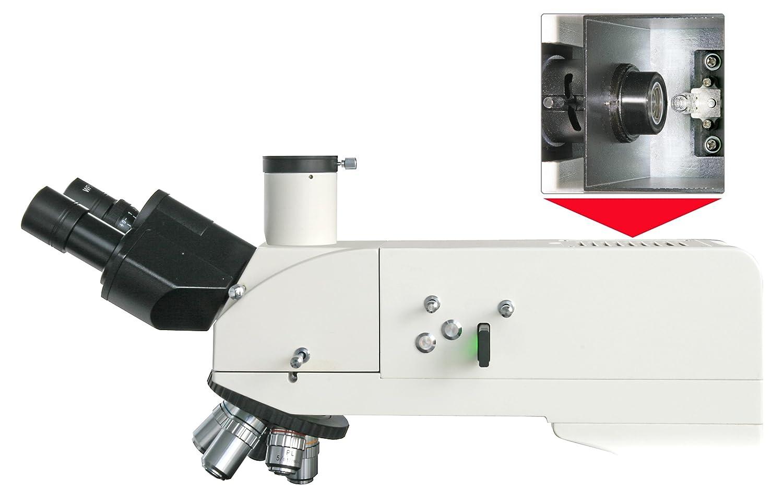 Bresser professionelles trinokulares auflicht mikroskop science mtl