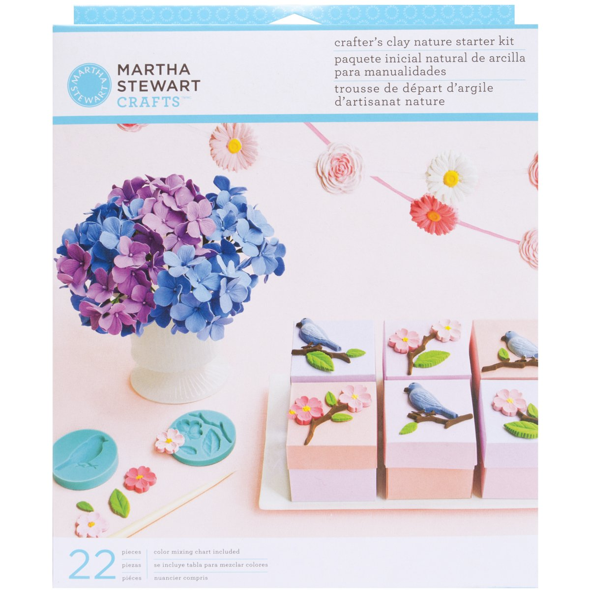 Martha Stewart Crafts Crafter's Clay Starter Kit Nature 43-00001