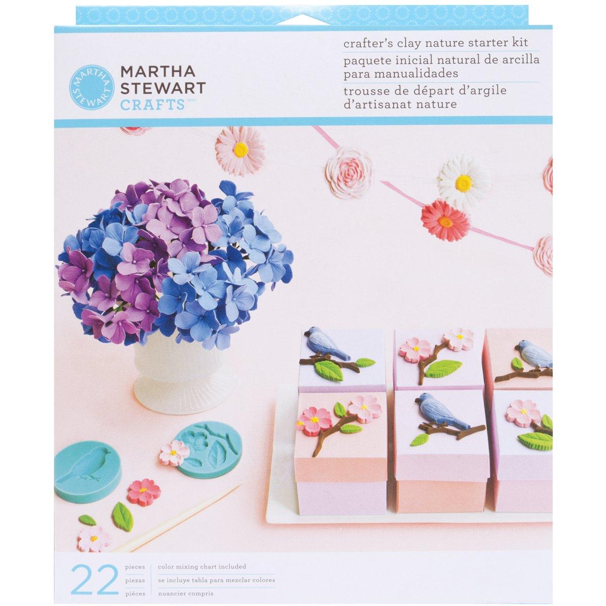 Martha Stewart Crafts Crafter's Clay Starter Kit Heirloom Leadoff 43-00002