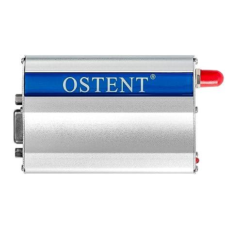 OSTENT GSM Modem with Wavecom Q2303A Module COM/RS232/Serial Port at  Commands SMS Voice Call AU Plug Power Adapter