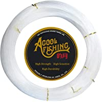 AGOOL Monofilament Fishing Line Clear Super Strong Abrasion Resistant Low Memory Nylon Fishing Leader Line Speargun Line…