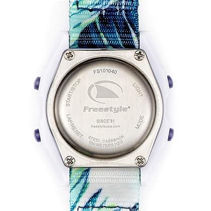 81d5afb29 Freestyle Shark Mini Clip Aloha Paradise Green Unisex Watch FS101040 ...