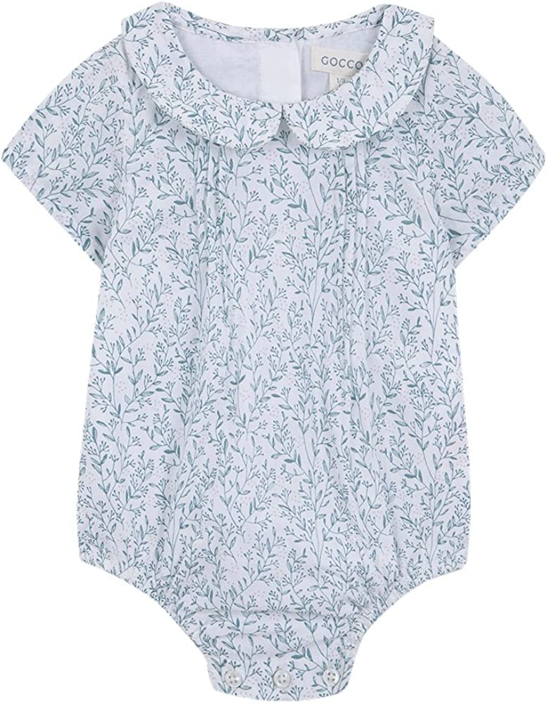 Gocco Ranita Estampado Ramitas Body, Turquesa (Verde Claro VL), 3-6 Meses Unisex bebé: Amazon.es: Ropa y accesorios