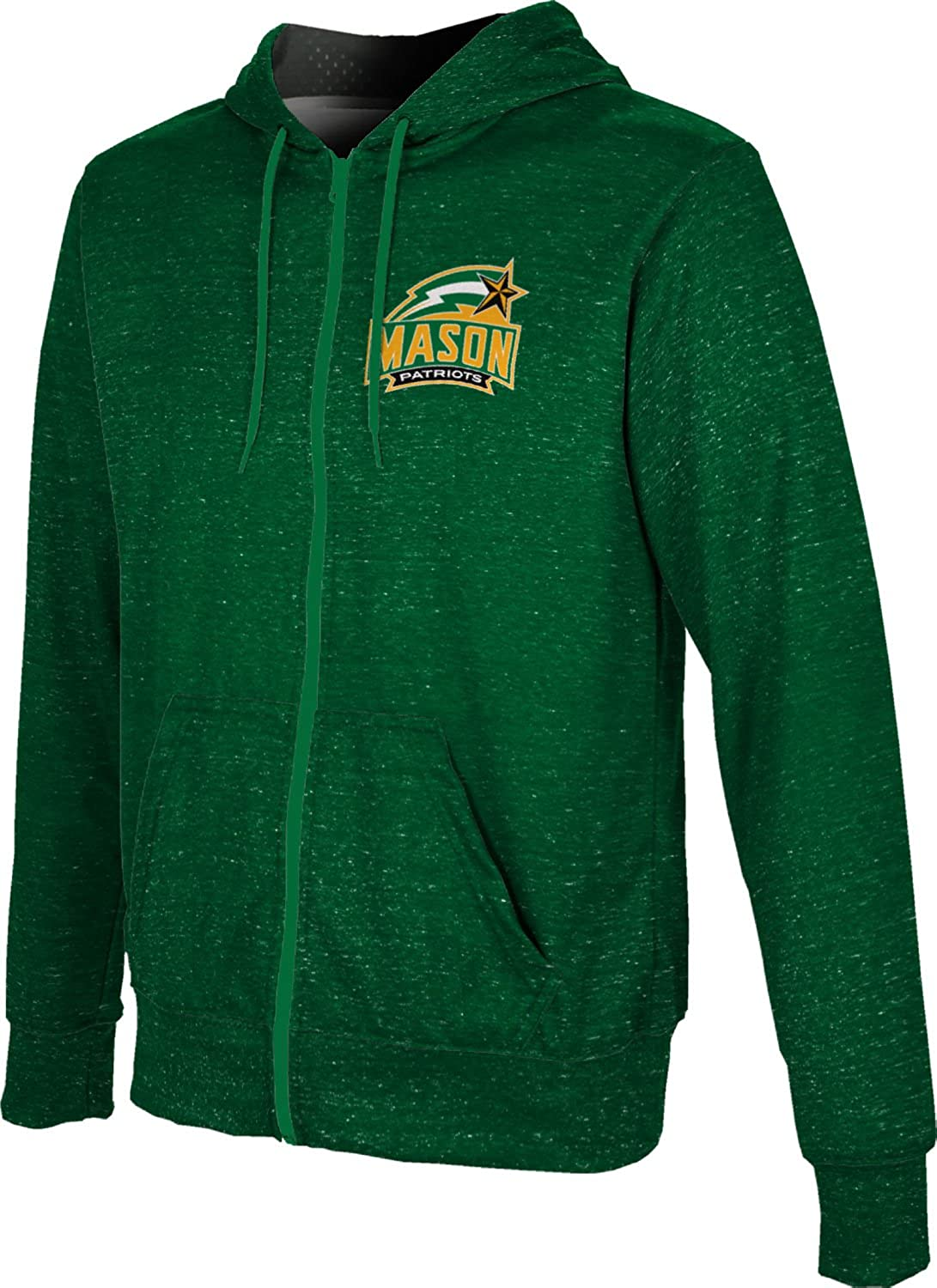 Heather ProSphere George Mason University Boys Full Zip Hoodie