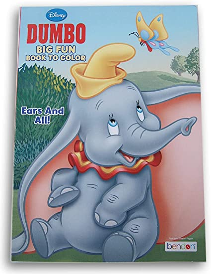 Dumbo Coloring Pages | Team colors | 550x425