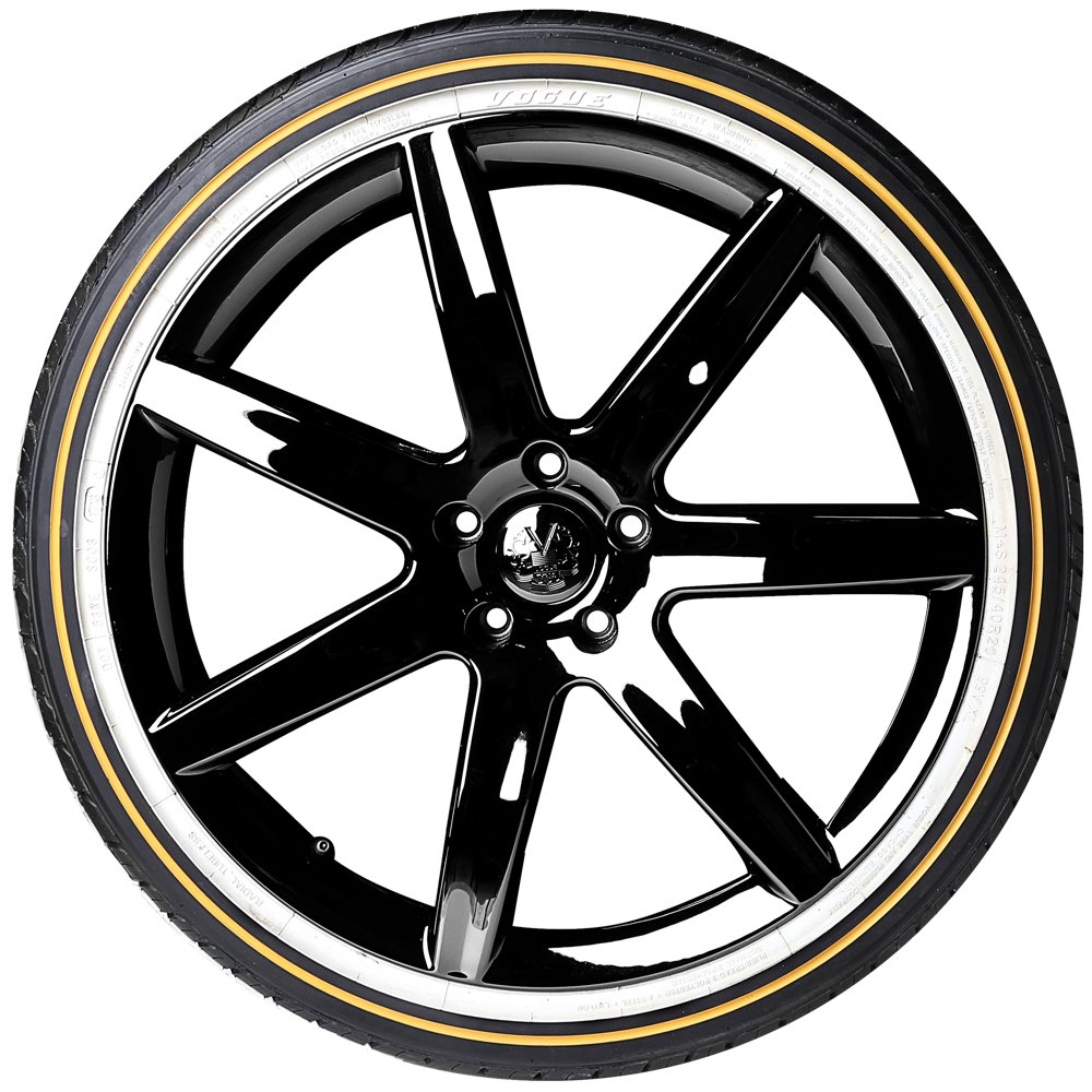 Tire Stickers Gold Line/White Line Tire Add On Rubber Stripe Kit Vogue  Style   DIY Application to Any Tire with Glue Included   Custom ...